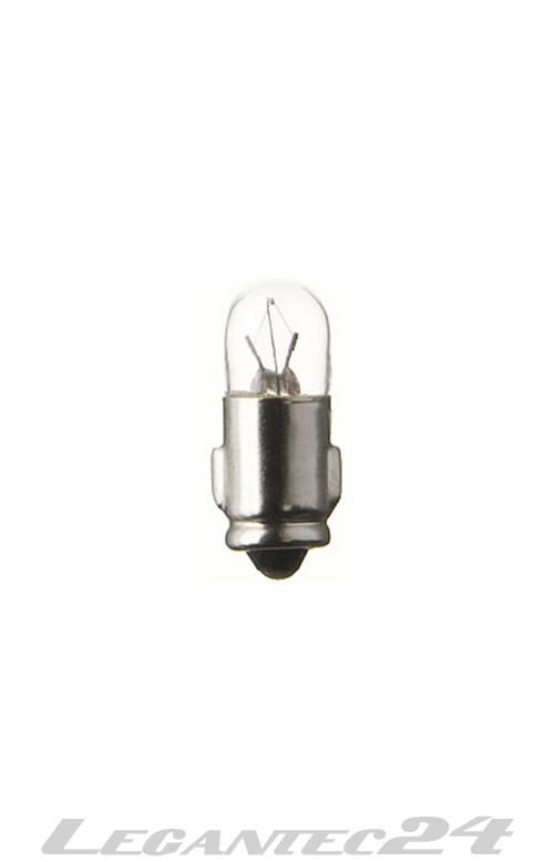 Glühlampe 24V 25mA 0,6W Ba7s 7x23mm Glühbirne Lampe Birne 24Volt 0,6Watt neu