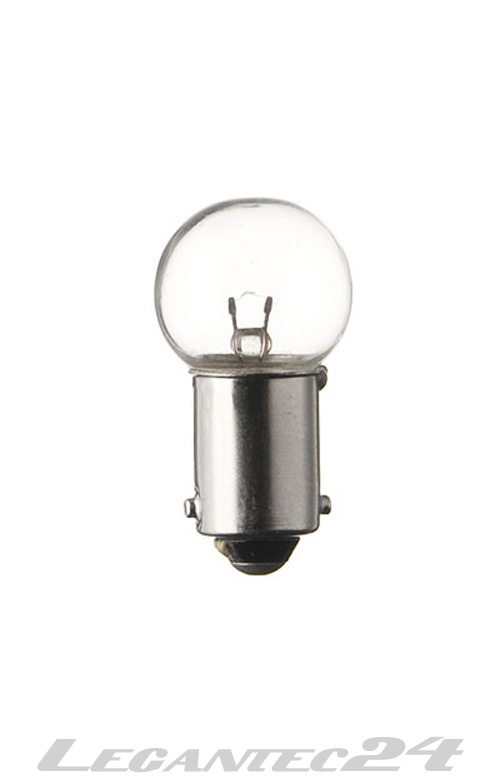 Rücklicht 6V 4w Glühbirne Lampe Birne 6 Volt Mofa Moped BA9S 10 Stück Sparpack